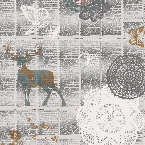 Fusion Sparkler - Doiland Gloss Fabric