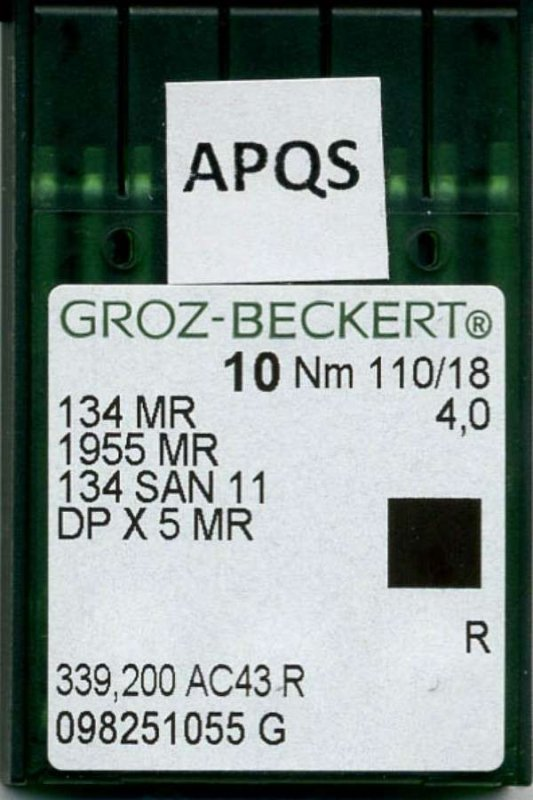 Groz-Beckert 18 Titanium Needles