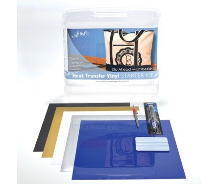 Artistic Starter Kit - Heat Transfer Vinyl