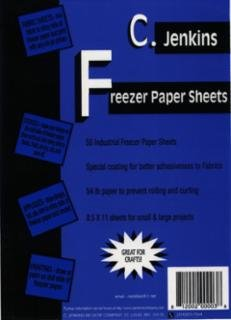 C Jenkins Freezer Paper Sheets