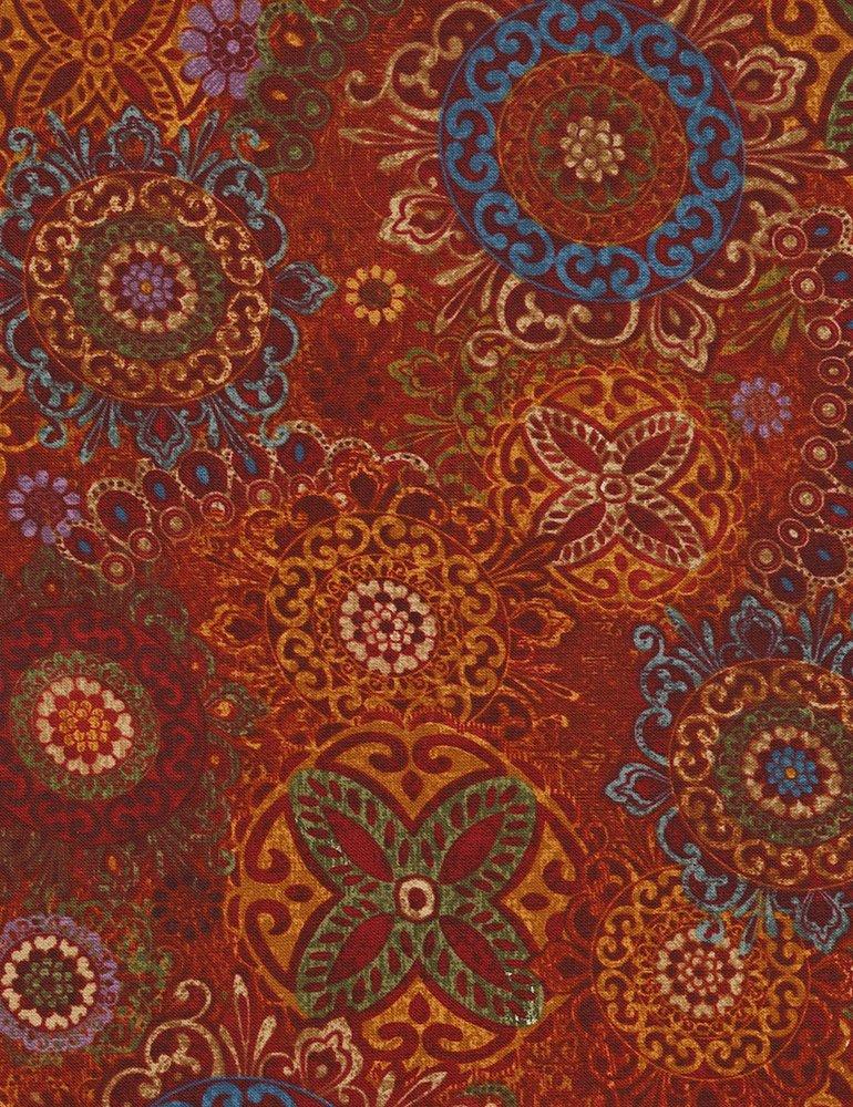 Carpet - Sangria Fabric