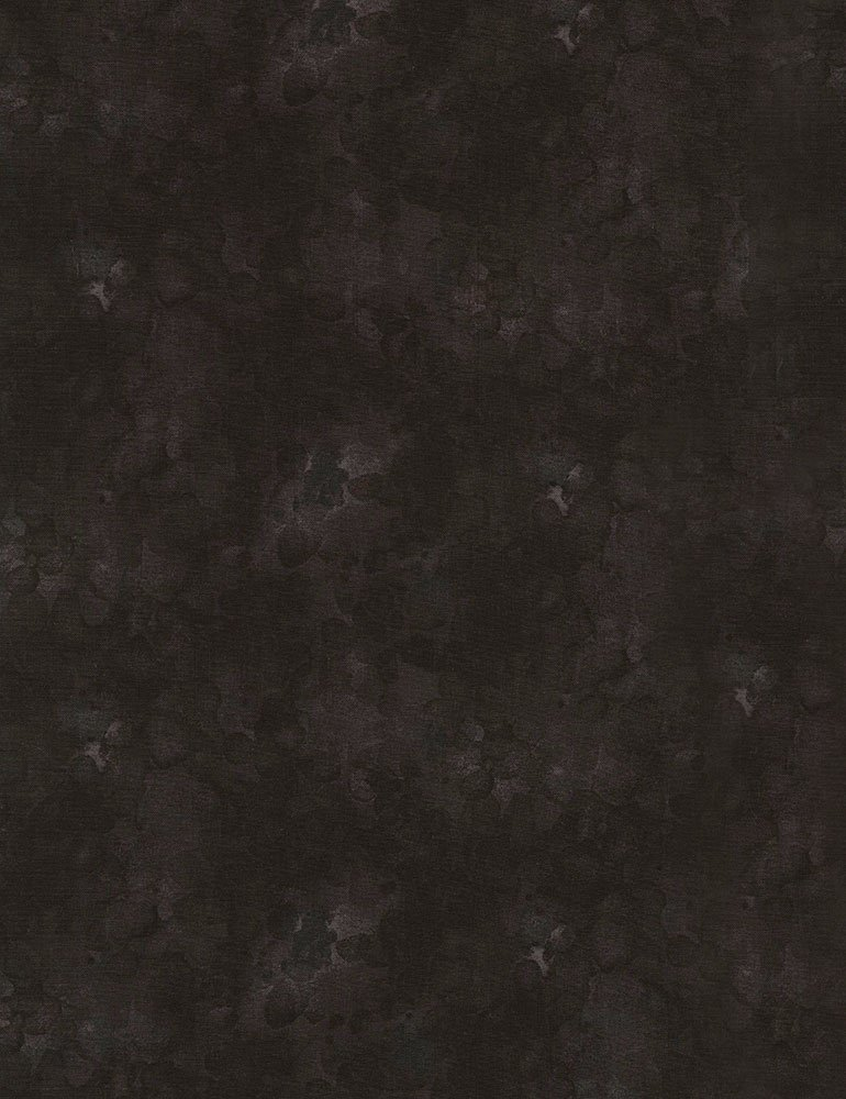 Solid-ish - Black Fabric
