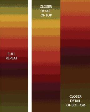 Essential Gradations - Autumn Fabric