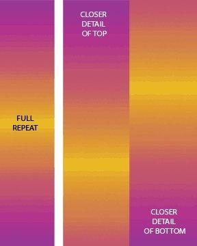 Essential Gradations - Fuchsia Sunshine Fabric