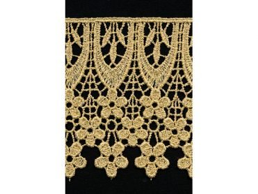 Venise Lace - Metallic Polyester 3.875