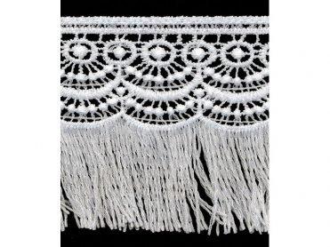 Venise Lace - White Cotton 3.25