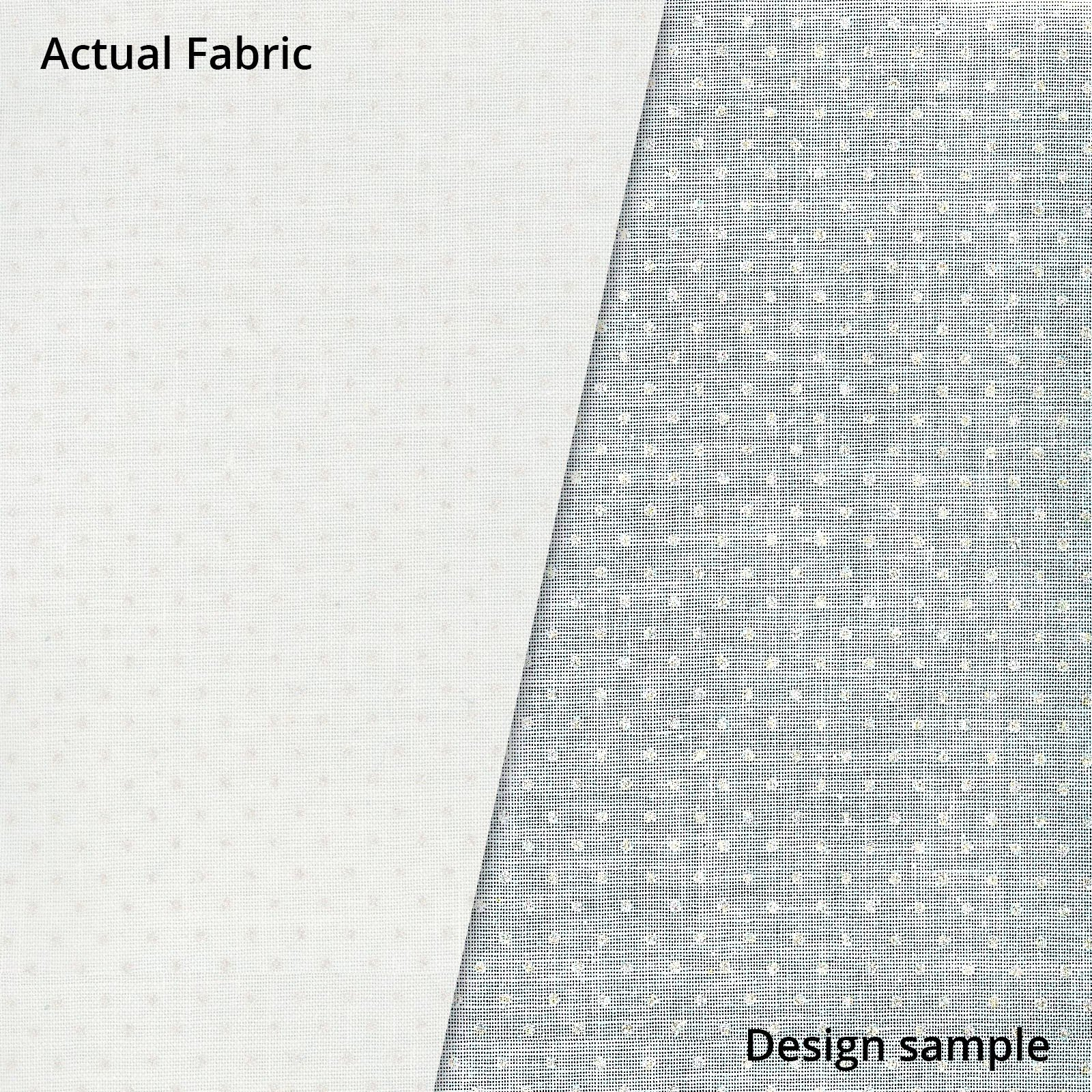 Pearl Essence Dots - White Fabric