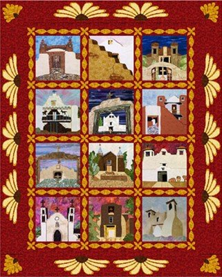 Mission Churches of New Mexico Borders/Sashing