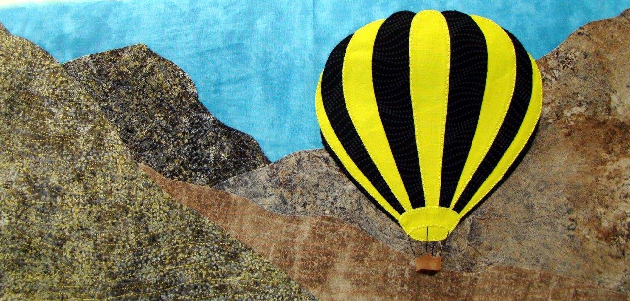 Beautiful Balloons #5 - Mountain Balloon