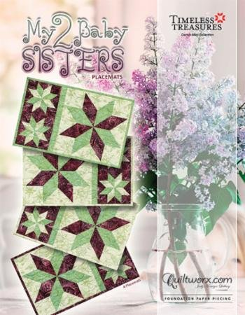 My 2 Baby Sisters Placemats Pattern