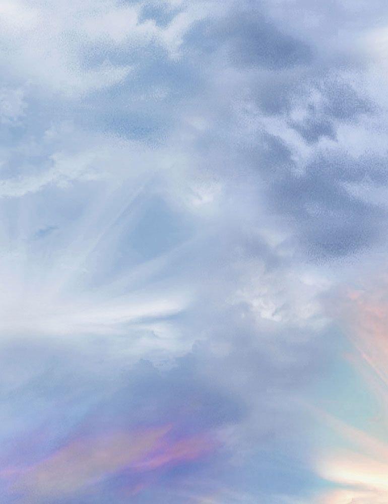 Sunrise Lit Sky - Multi