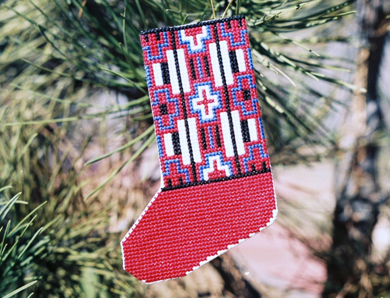 Stocking - Chief Blanket Counted Cross Stitch Kit