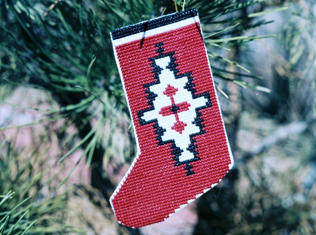 Stocking - Ganado Counted Cross Stitch Kit