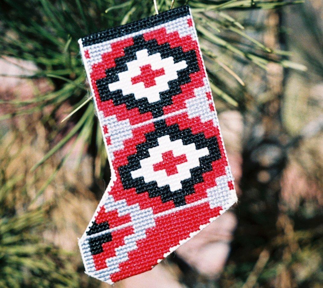 Stocking - Ganado II  Counted Cross Stitch Kit