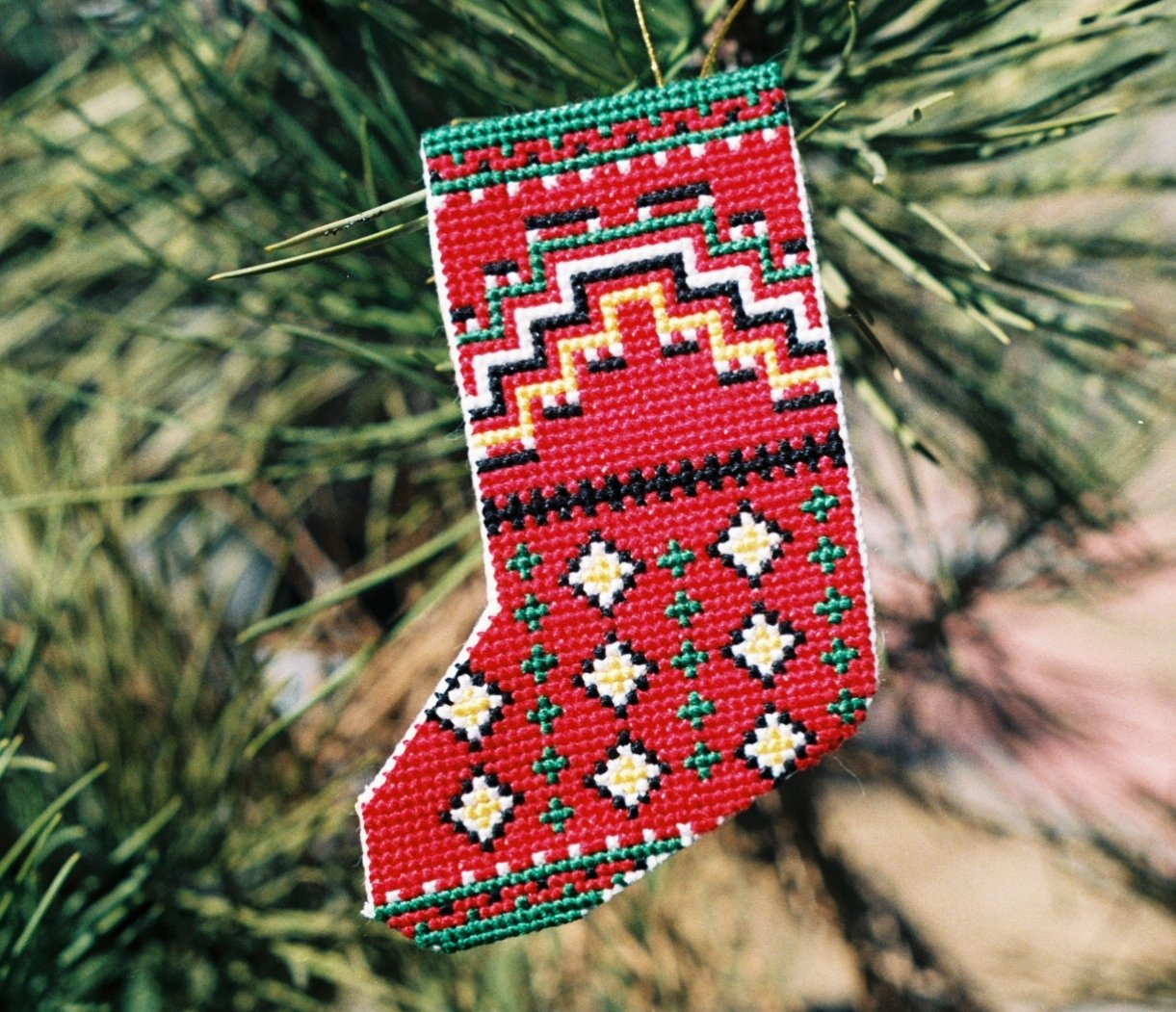 Stocking - Germantown Counted Cross Stitch Kit