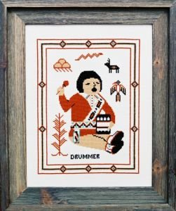 Drummer Counted Cross Stitch Kit