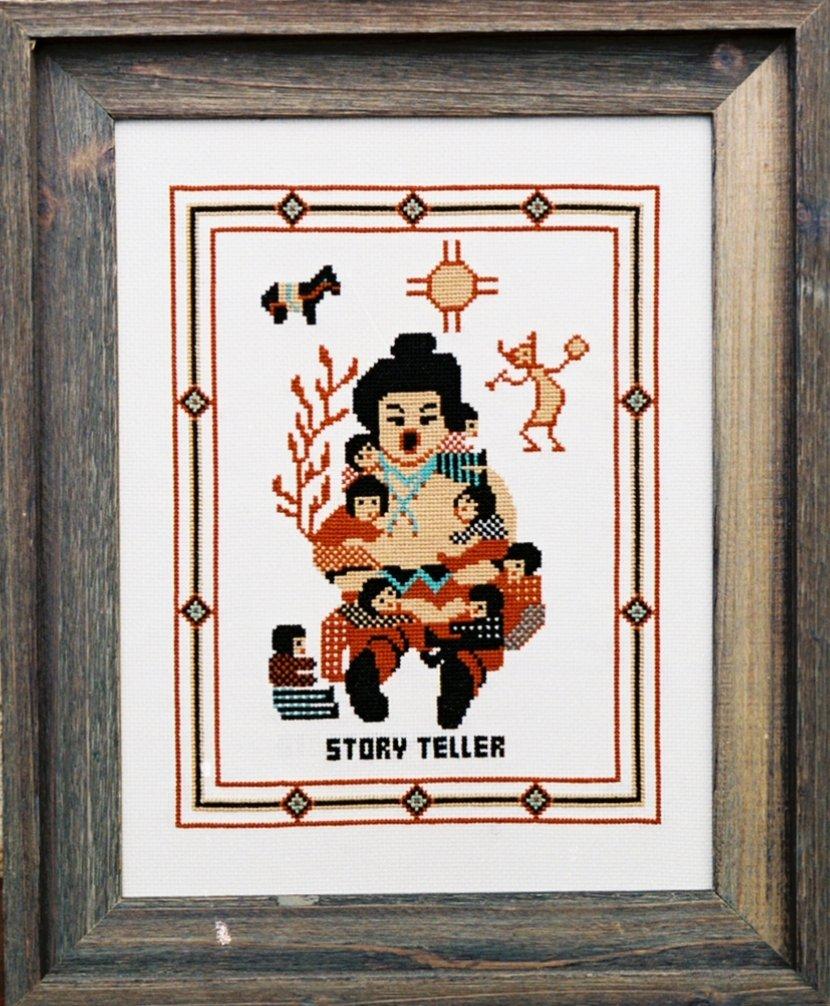 Storyteller Counted Cross Stitch Kit