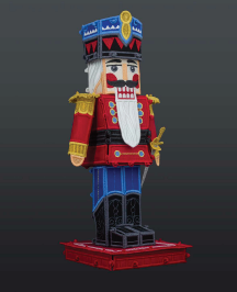 OESD Freestanding Nutcracker CD