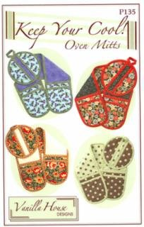 Keep Your Cool! Oven Mitts Pattern