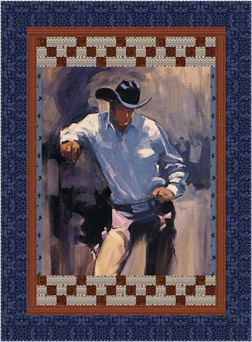 Back of the Chutes - Cowboy Quilt Pattern