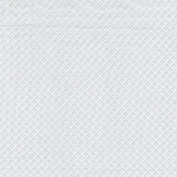 Diamond Grid - Ice Fabric