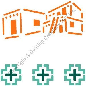 Adobe House Paint Stencil
