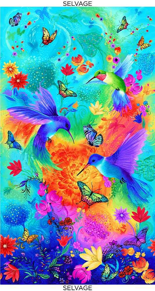 Whirlwind Hummingbird 24 Panel DP - Blue