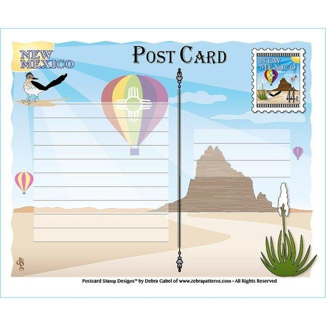 New Mexico Post Card Kit