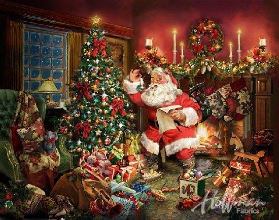 Ol St Nick Santa Panel