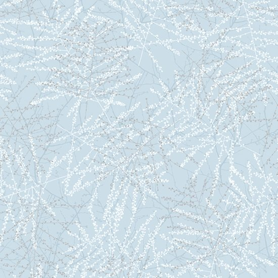 Ice Crystals - Blue/Silver