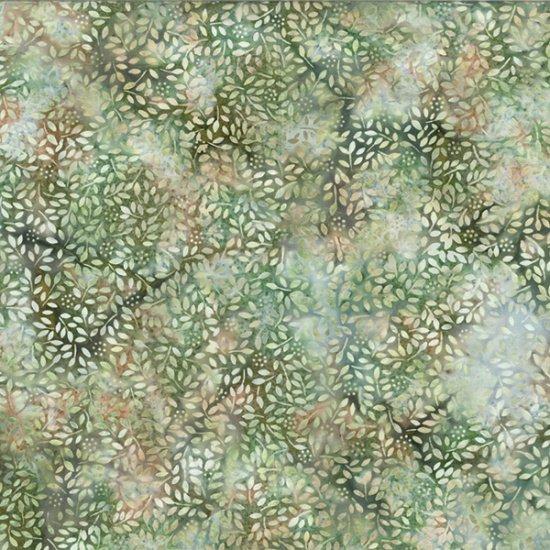 Bali Ditzy Leaves  - Balsam Batik