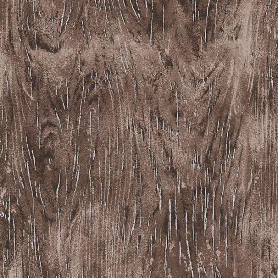 Meet Magnolia Wood Grain - Bark/Silver Fabric
