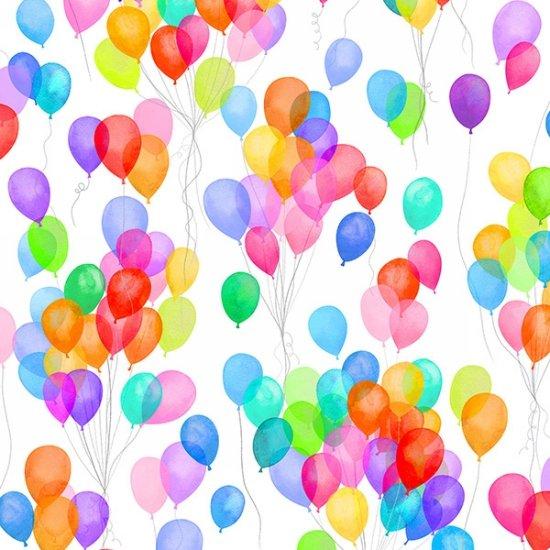 Cue The Confetti Balloons - Rainbow DP