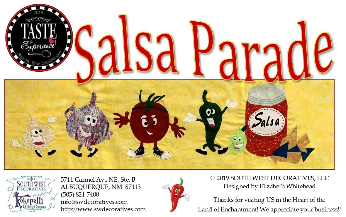 Salsa Parade - 2019 Row By Row Experience