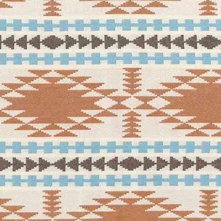 Taos Chevron - Ivory Flannel