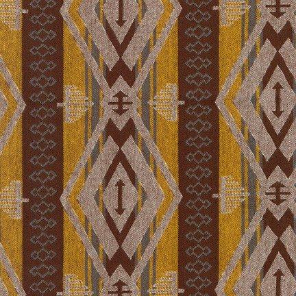 Taos Diamond Stripe - Yarrow Flannel
