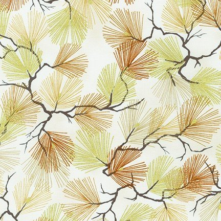 A Walk on the Path Needles - Ivory Fabric
