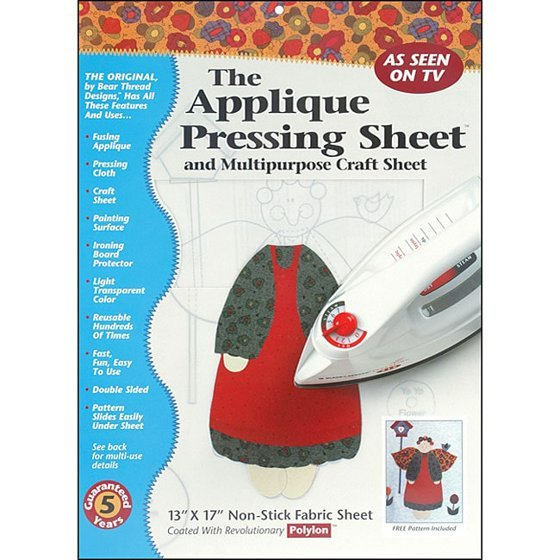 Applique Pressing Sheet 13x17