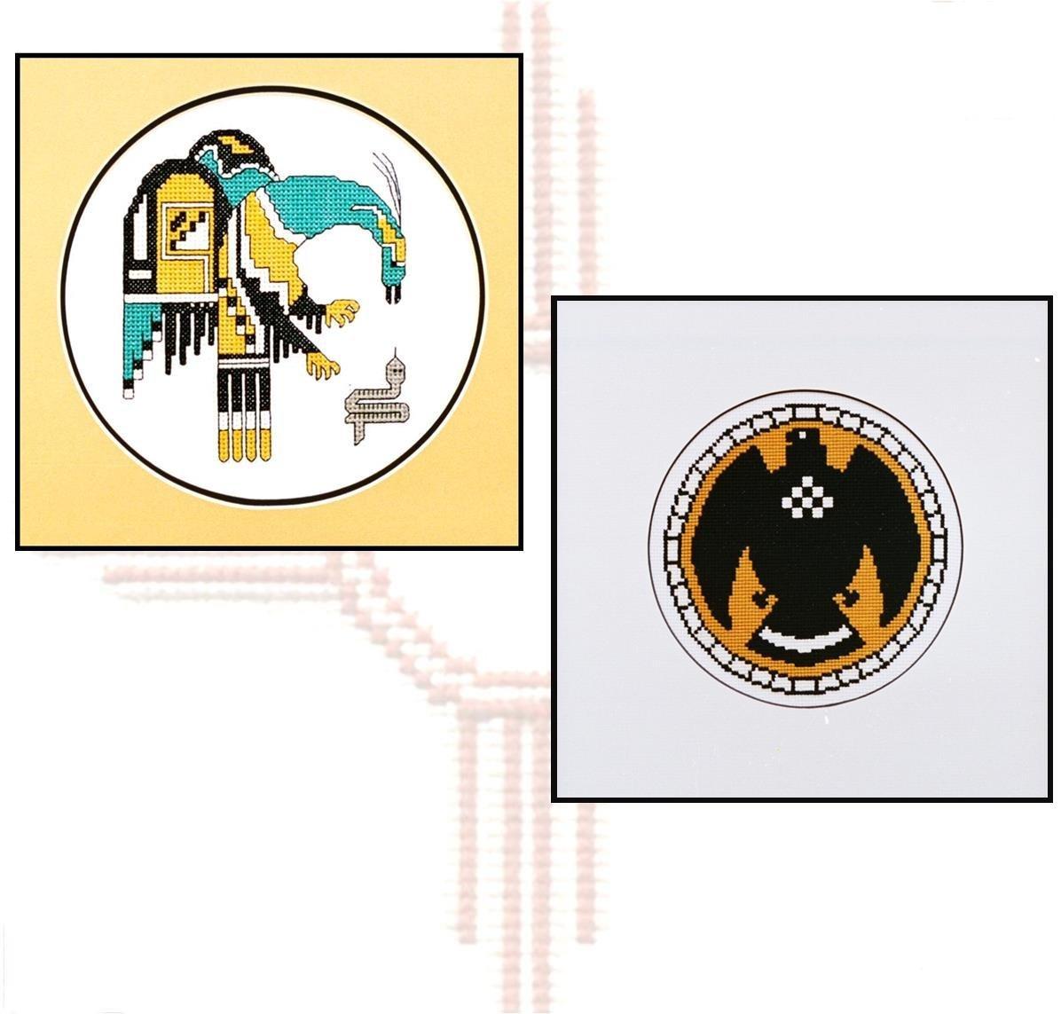 Trading Post Symbols Counted Cross Stitch 041