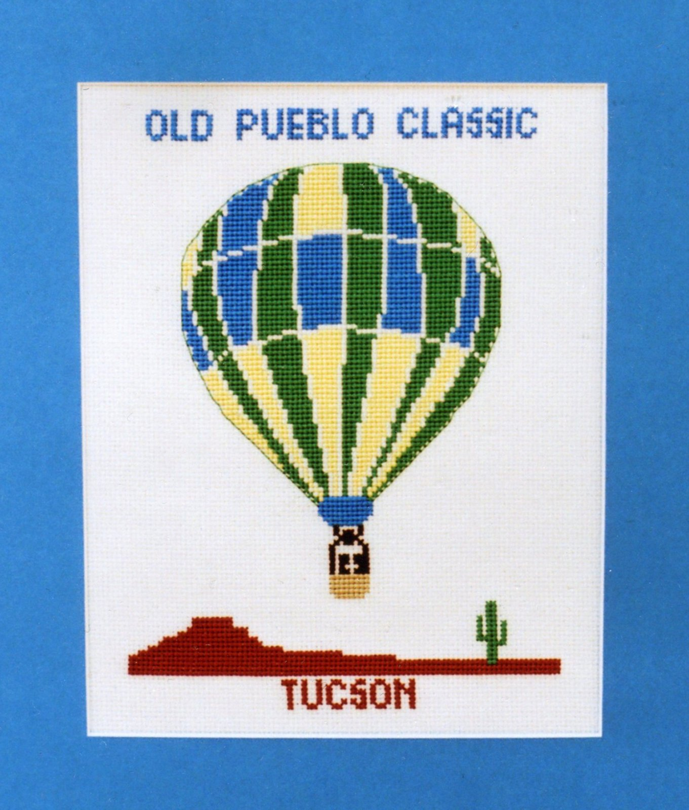 Hot Air Balloon III Counted Cross Stitch Chart