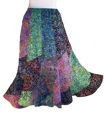 Twirly Batik Skirt