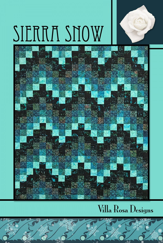 Sierra Snow Pattern Card