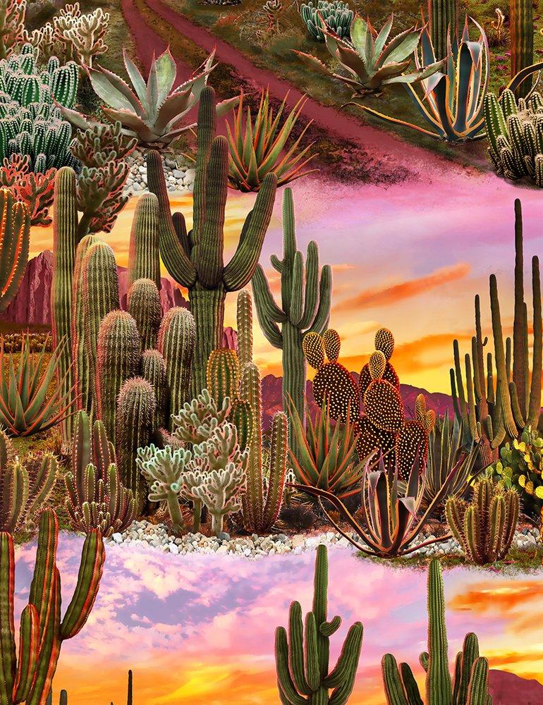 Desert Landscape - Multi Fabric
