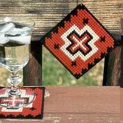 Coaster - Manta Needlepoint Kit