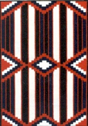 Chief Blanket II Counted Cross Stitch