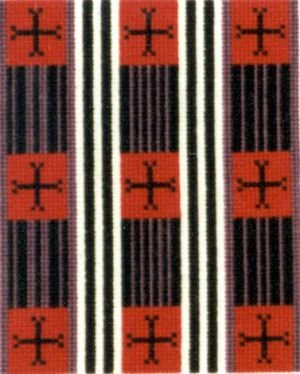 Chief Blanket III Counted Cross Stitch