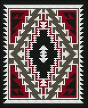 Klagetoh IV Counted Cross Stitch