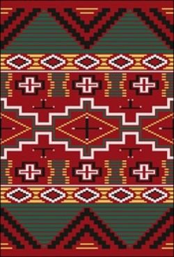Sarape Counted Cross Stitch Special Edition