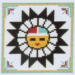 Tawa-Sun God Counted Cross Stitch Kit