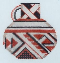 Textile Pitcher Counted Cross Stitch Kit